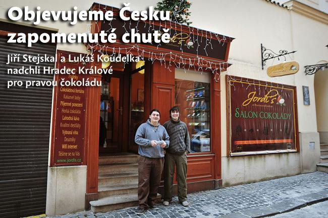 Objevujeme Česku zapomenuté chutě: Jiří Stejskal a Lukáš Koudelka nadchli Hradec Králové pro pravou čokoládu